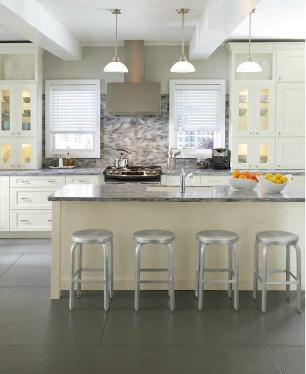 Use Accessories To Link Your Island To The Rest Of Your: Martha Stewart Kitchen Cabinets