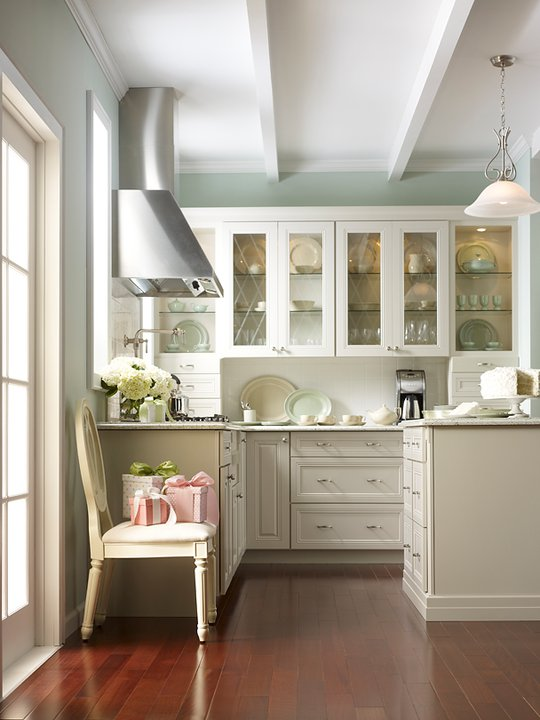Martha Stewart Kitchen Cabinets  Transitional kitchen Glidden