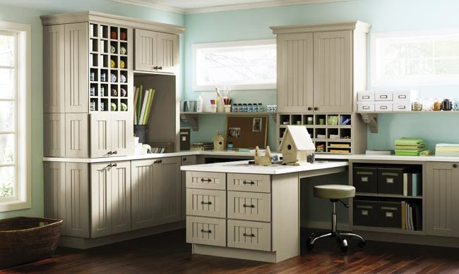 Martha Stewart Cabinets Traditional Den Library Office