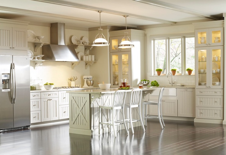 Martha Stewart Kitchen Cabinets - Transitional - kitchen - Martha ...