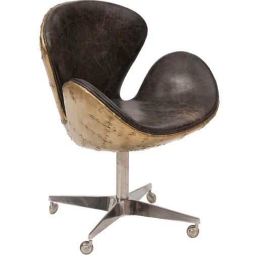 devon desk leather chair i high fashion home antique leather office chair