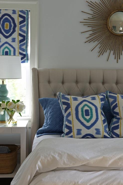 Light Gray Tufted Headboard - Contemporary - bedroom ...