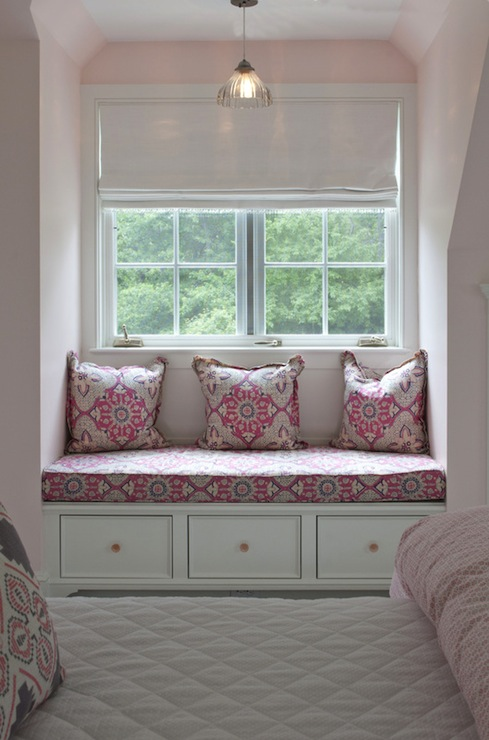 Pink And Gray Girls Room Transitional Girl S Room