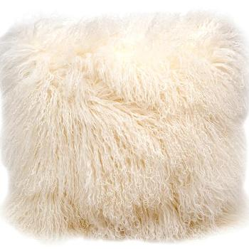 Luxe Fur Stool I Anthropologie Com