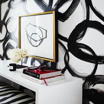 Black And White Abstract Art Design Ideas