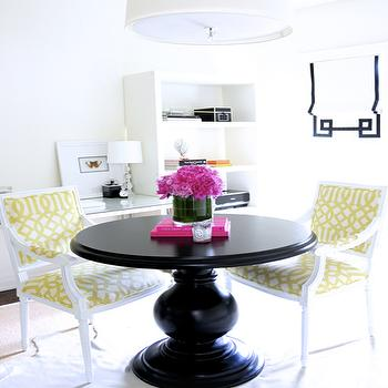 Yellow and Black Dining Room, Contemporary, dining room, Ferreira Design