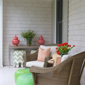 Moroccan Side Tables, Contemporary, deck/patio, Nightingale Design