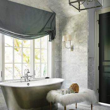 Luxurious Master Bathroom, Transitional, bathroom, Atlanta Homes & Lifestyles