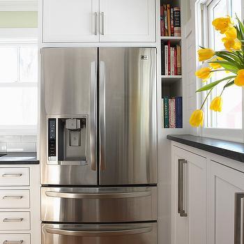 Cabinets Above Fridge Design Ideas