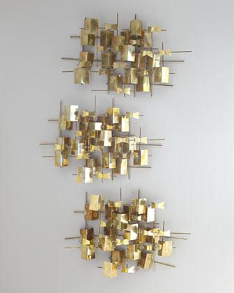 Global Views Folded Brass Wall Decor I Horchow