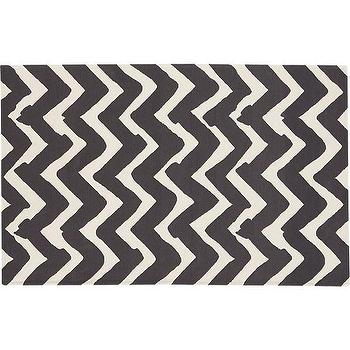 Chevron Outdoor Rug, Crate and Barrel