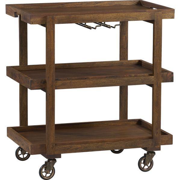 Collins Bar Cart - Crate and Barrel