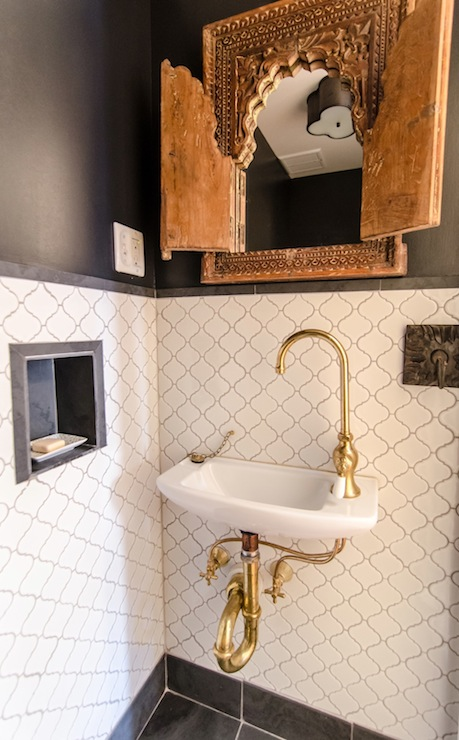 Arabesque tile backsplash design ideas for Arabesque style decoration