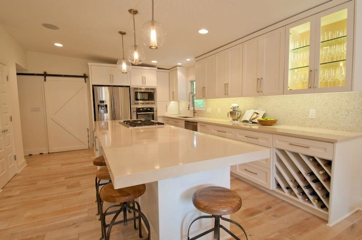 Caesarstone Buttermilk Transitional Kitchen Sherwin