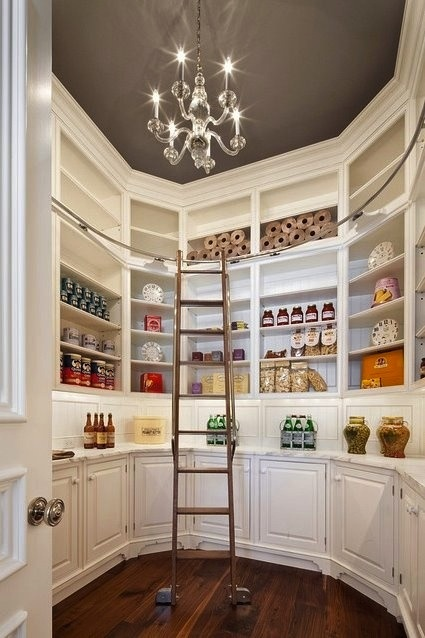 Walk in pantry design transitional kitchen the stone for Walk in pantry