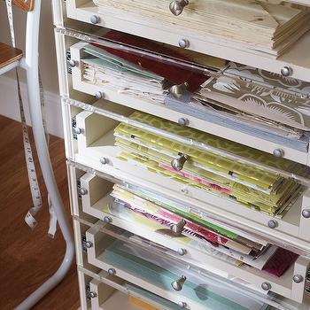 Craft Paper Station & Craft Paper Storage Design Ideas