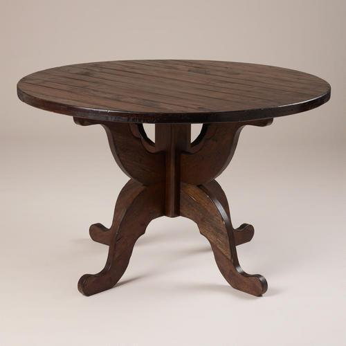 Espresso Romeo Round Dining Table