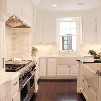 Off White Cabinets, Traditional, kitchen, Farrow & Ball Pointing 2003, The House of L