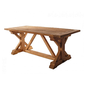 Hudson Yard West End Solid Elm Table