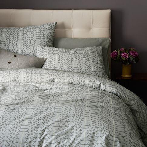 organic seedling duvet cover shams west elm. Black Bedroom Furniture Sets. Home Design Ideas