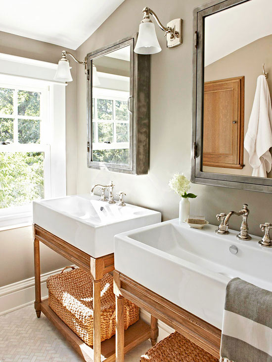 Restoration Hardware Washstand View Full Size