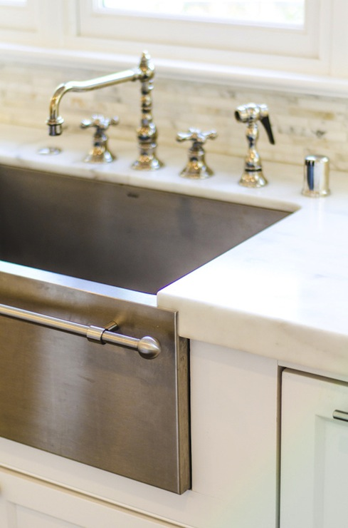 Stainless Steel Apron Sink Design Ideas