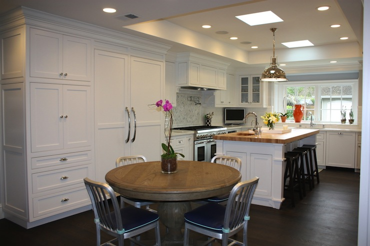 U Shaped Kitchen Transitional Kitchen Fiorella Design