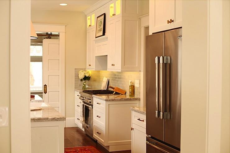 White Dove Cabinets Transitional Kitchen Benjamin