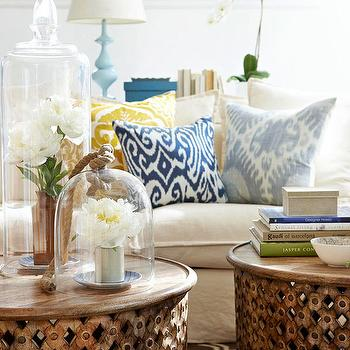 bamileke stool table cottage