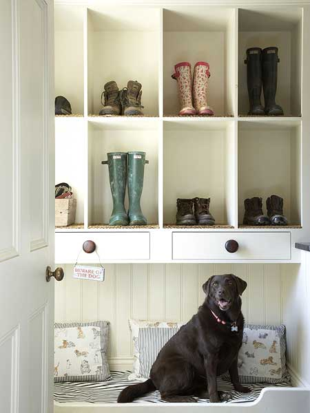Mud Room Shoe Shelves Country Laundry Room My Home Ideas