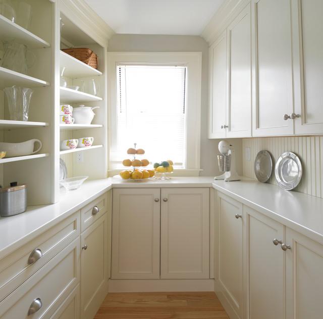 Beadboard Kitchen Walls - Transitional - kitchen - Michael ...