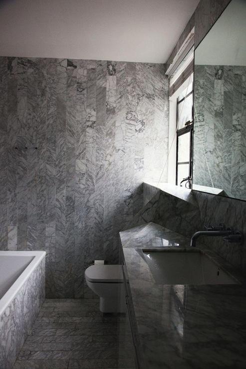 Modern Marble Bathroom & Modern Marble Bathroom - Modern - bathroom - The Selby
