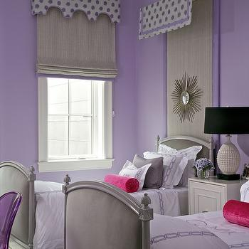Purple and Gray Girls Room, Contemporary, girl's room, Northworks Architects