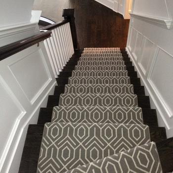 Geometric Stair Runners Design Ideas