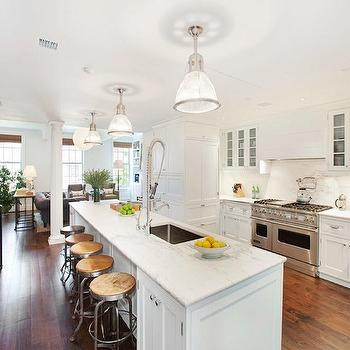 Long Kitchen Island, Transitional, kitchen, COCOCOZY