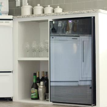 Mini Fridge, Transitional, kitchen, Jenna Sue Design