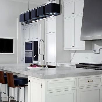 Kitchen TV Nook, Modern, kitchen, Northworks Architects