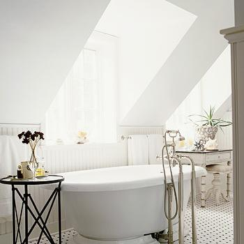Shabby Chic Bathroom, Traditional, bathroom, Elle Decor