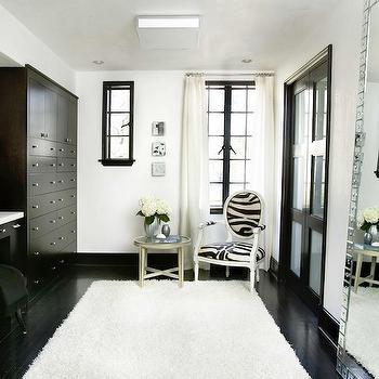 Black and White Dressing Room, Contemporary, closet, HammerSmith