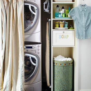 Closet Laundry Room, Contemporary, laundry room, BHG