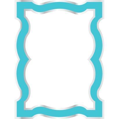Wallpop By Jonathan Adler Dry Erase Frame Blue I Target