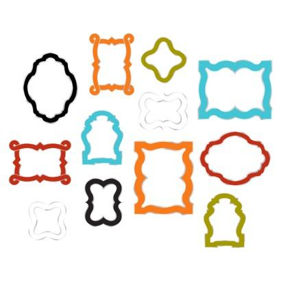 wallpops by jonathan adler photo frames kit enamel i target