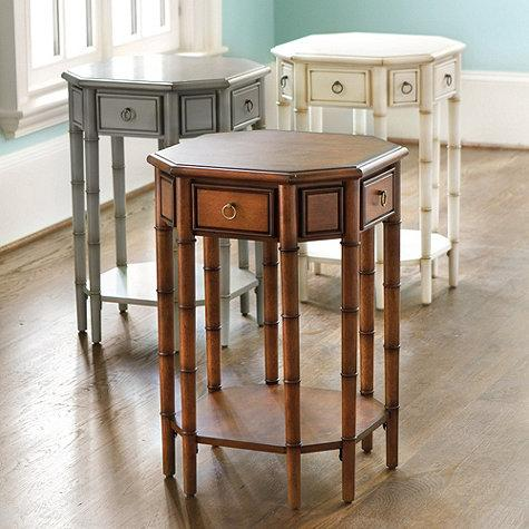 Dahlia Octagonal Side Table Ballard Designs