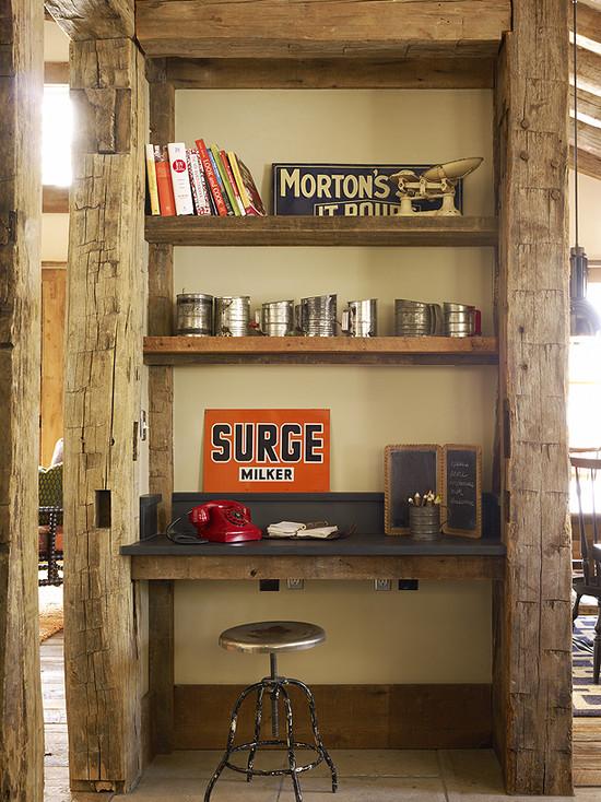 Reclaimed Wood Office Door Design Ideas