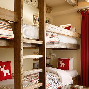 Boys Bunk Beds, Country, boy's room, Kelly and Abramson Architecture