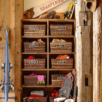 Kids Mud Room, Country, laundry room, Kelly and Abramson Architecture