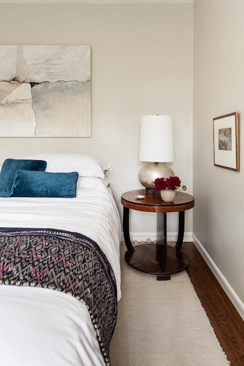 Grey Wood Storage Bed