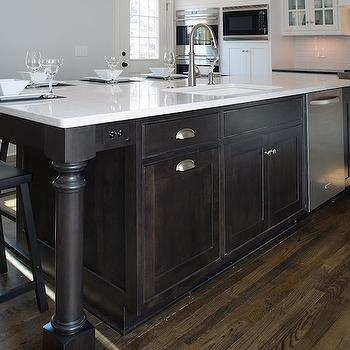 espresso kitchen island kitchen island dishwasher design ideas 3596
