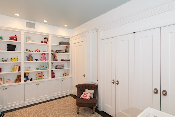Nursery Built In Cabinets