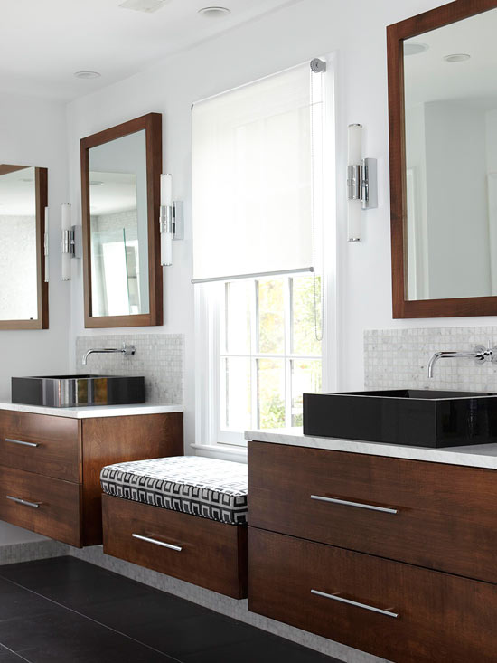 Floating bathroom vanity contemporary bathroom bhg Floating bathroom vanity